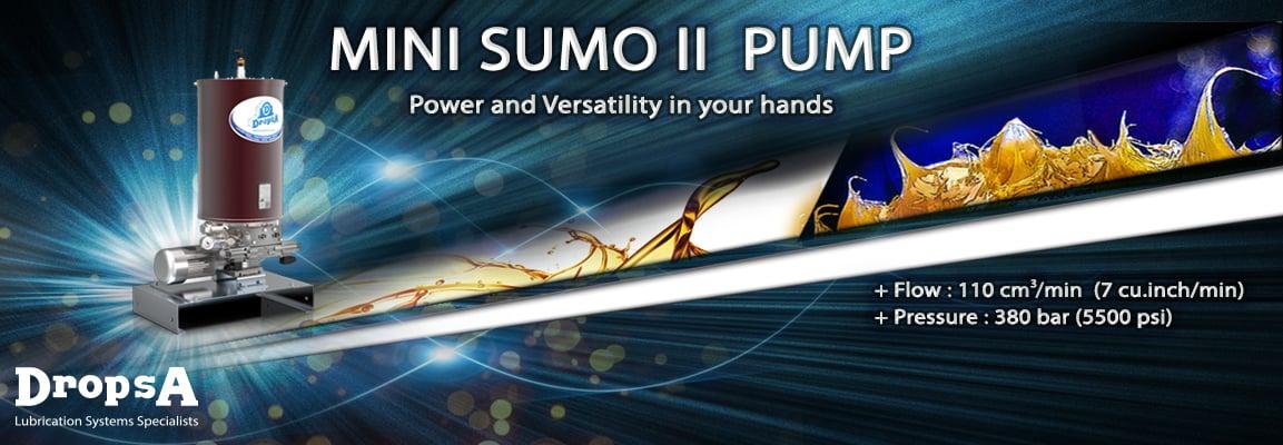 Новый насос Mini Sumo II