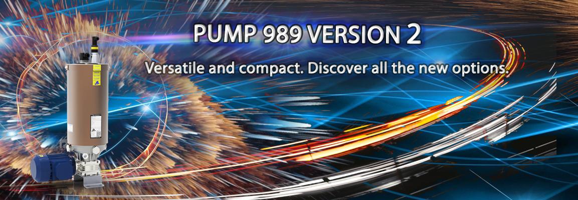 Новый насос 989 V2