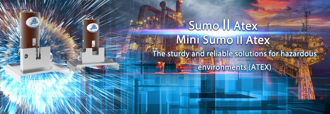 Le nuove pompe SUMO II Atex e Mini SUMO II Atex