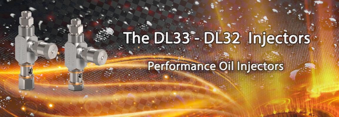 Injecteurs DL 32 et DL33 à huile