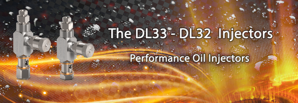 Nuovi iniettori DL 32 e DL33 ad olio