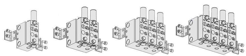 valvole modulari linea doppia