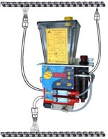 VIP4Chain Automatic Chain lubrication system