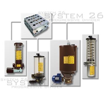 Dosatori a Sistema Progressivo di lubrificazione