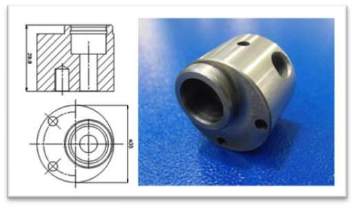 MQL/Lubrificazione Minimale: CASE STUDY - Corpo Pompa.