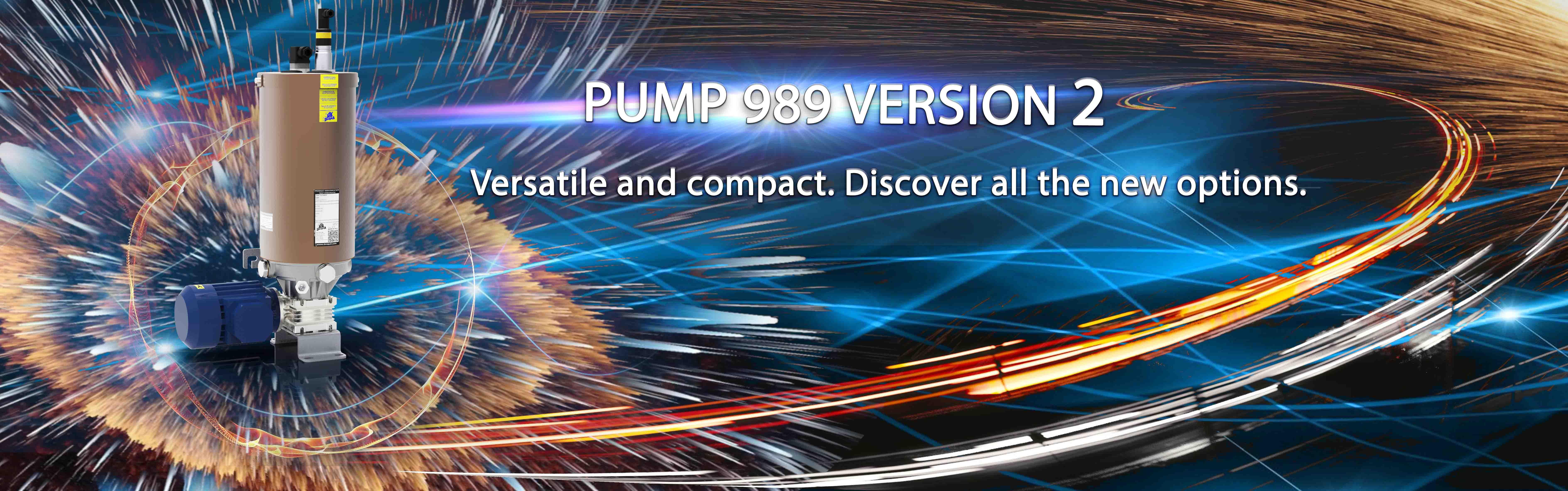 New 989 V2 pump