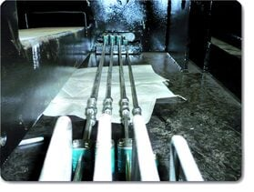 Lubrication system for grit rake