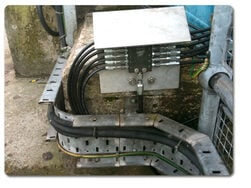 Lubrication system for grit rake