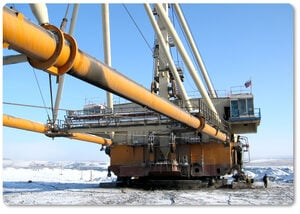 Dragline excavators: pumps for harsh and cold environments
