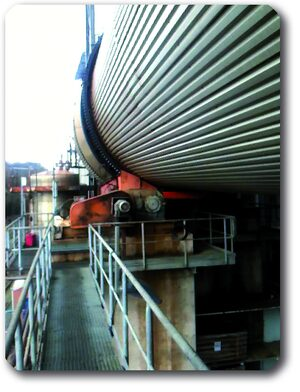 Lubrication solutions for rotary dryers