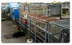 Soluzione per lubrificare la vasca di sedimentazione