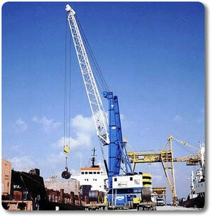Cranes: dual line lubrication in Stainless Steel