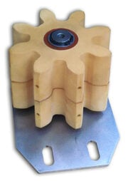 greasing lubrication pinion