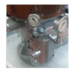 Inverter mounted on Dropsa Sumo pump