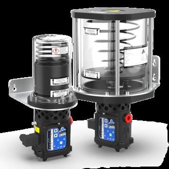 Pompa elettrica per lubrificazione automatica