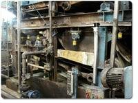 lubrication of dewatering presses