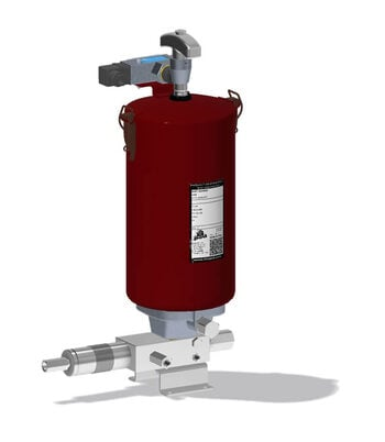 Pompe idrauliche a comando oleodinamico