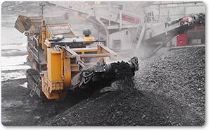 Automatic lubrication for mobile crushers