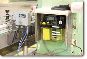 Nastro sistema di lubrificazione