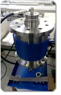 Bearing filling system Lubrication