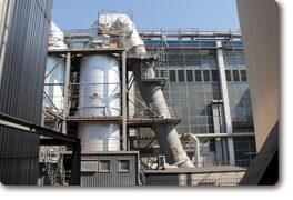 Incineration plant: lubrication system