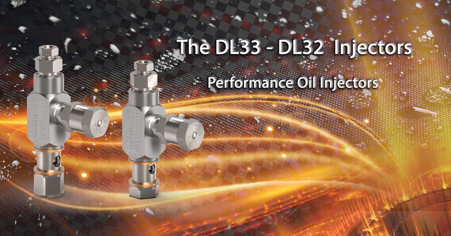 Ölinjektoren DL 32 und DL33